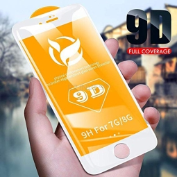9D Glass iPhone 6 (4,7) biała